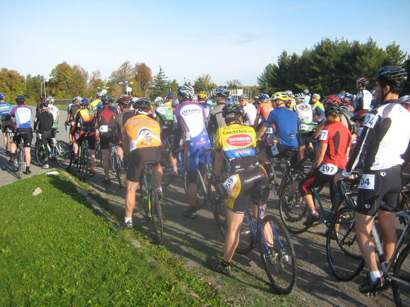 Cyclocross is more than just a typical bicycle race: cyclists face many obstacles along the route and sometimes must dismount, carry their bike, then remount shortly after.