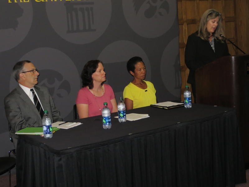 UI officials release the campus' Speak Out Iowa survey results and anti-violence plan in Iowa City