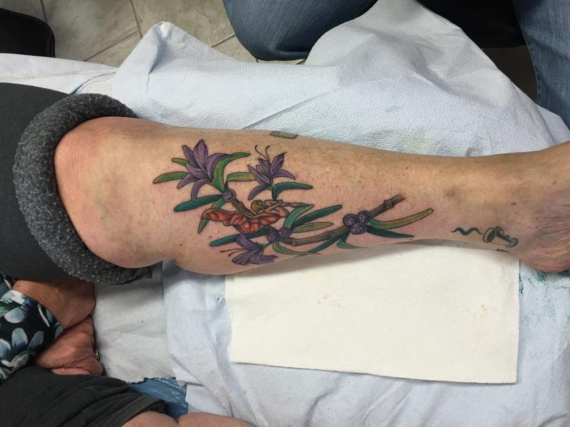 Ann Kiemig's tattoo in honor of her late mother, Rosemary