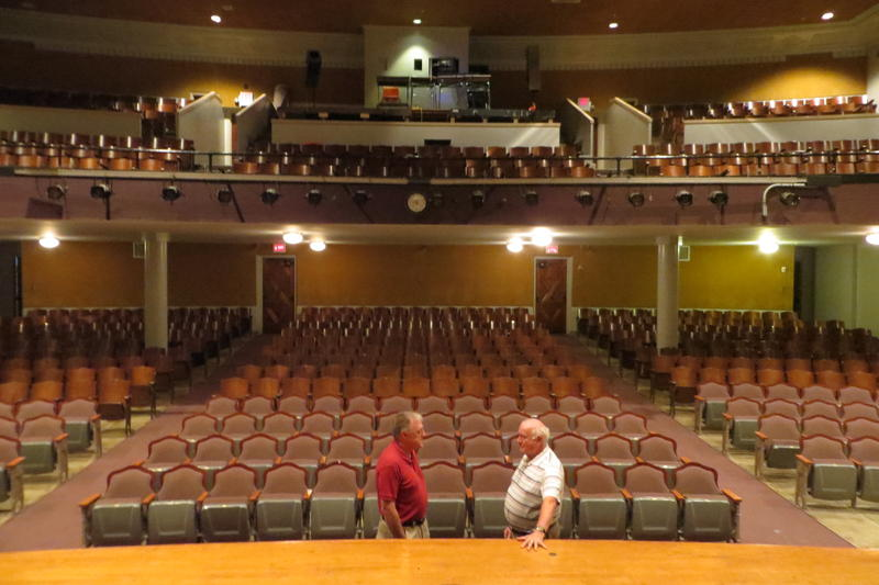 The 700 seat auditorium will remain available for community use.