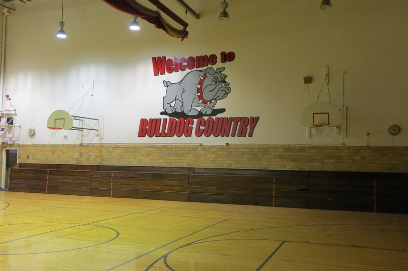 The former home court of the Algona Bulldogs is still open to the public.