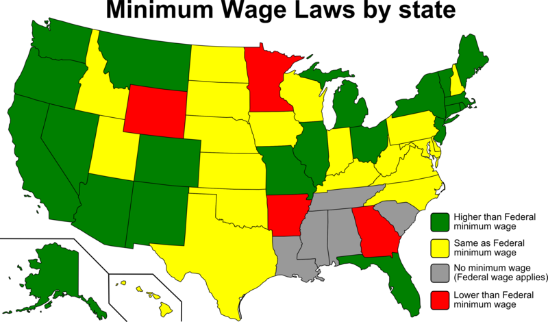 Minimum Wage Laws By State