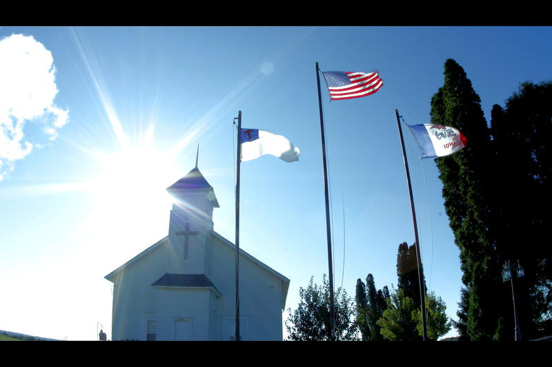 East Iron Hill Community Church in Jackson, Iowa
