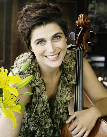 Cellist Hannah Holman