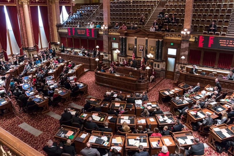 Iowa Senate Chambers