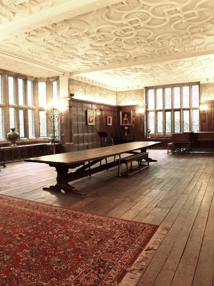 The Weeks family used the Common Room as a music and gathering room during their occupancy of Salisbury House.