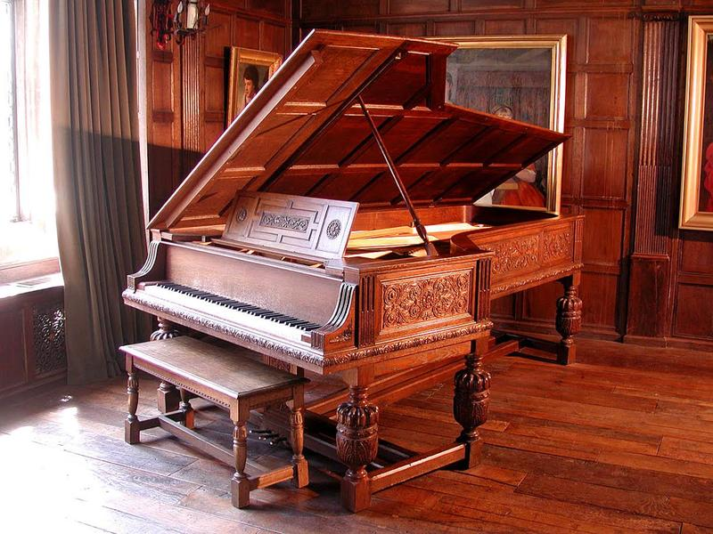 Salisbury House's Steinway piano was custom made for the Weeks Family in 1929.