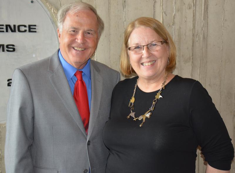 Tom Morain and Lynette Pohlman