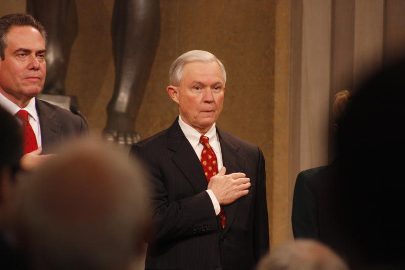 Sen. Jeff Sessions of Alabama, President-electTrump's nominee for Attorney General.