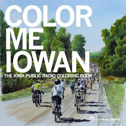 The cover of the IPR coloring book. Cover art by Glenn Boyles of Davenport