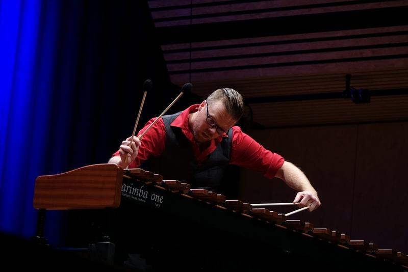 Percussionist Matthew Coley