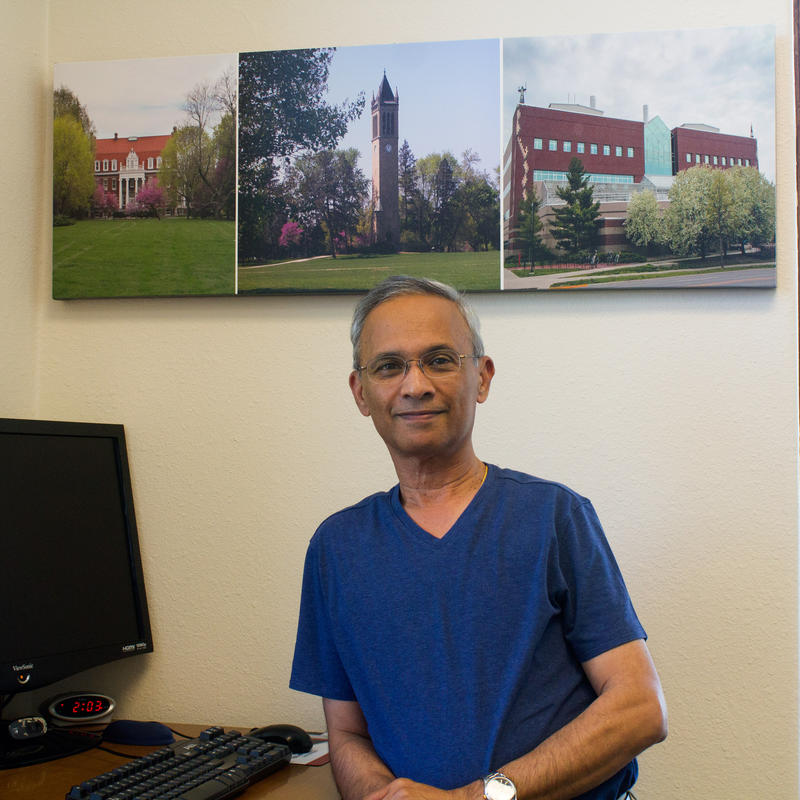 Biochemist Guru Rao worked at Pioneer during the development of its genetically engineered seeds. He now works at Iowa State University.