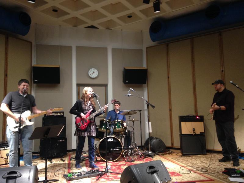 Wooden Nickel Lottery performing live in IPR's Cedar Falls studios.