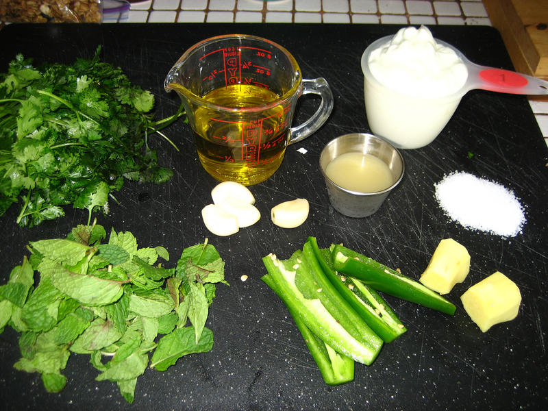 Chicken Tikka Sauce Ingredients(#1664)