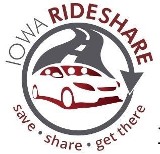 Iowa Rideshare Logo