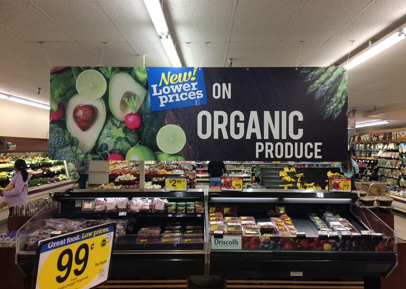 U.S. organic food sales hit about $40 billion in 2015.