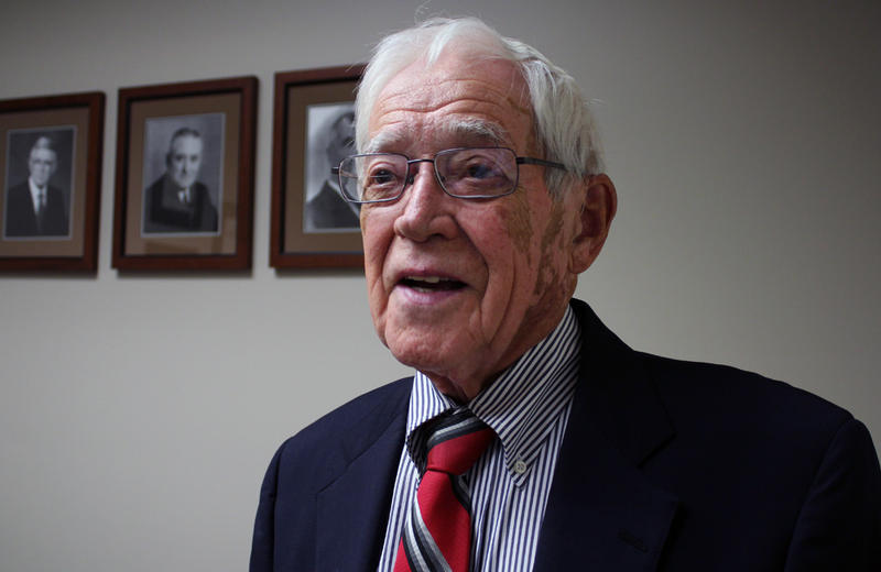 Robert Moodie, 89, joined the family business when he returned to West Point, Nebraska, to practice law in 1952.
