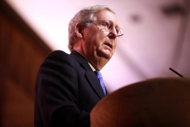 Majority Leader Mitch McConnell
