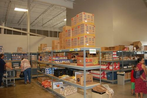 Bidwell-Riverside is one of the food pantries served by DMARC