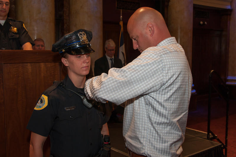 Susan Farrell was one of the four police officers in the Des Moines area killed in the line of duty in 2016.