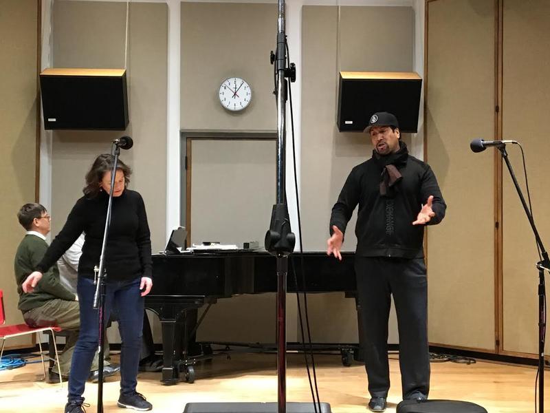 "Katharine Goeldner and Ta'u Pupu'a sing a duet from ""Cavalleria rusticana"""
