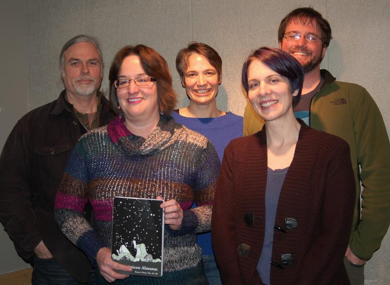 Tim Fay, Nancy Wyland, Charity Nebbe, Leslie Caton and Bryan Gibbs