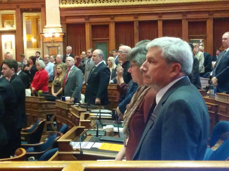 Newly Elected and Re-Elected Members of the Iowa House on Opening Day of the 2017 Legislative Session