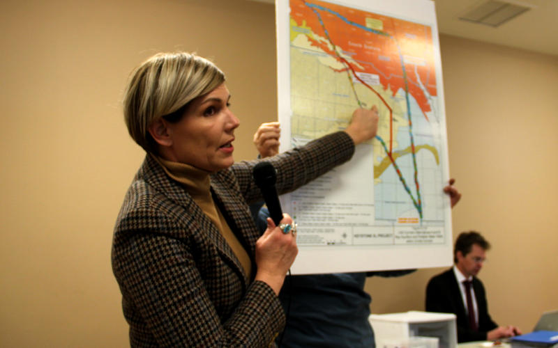Jane Kleeb of Bold Alliance gained notoriety as a political organizer by leading opposition to Keystone XL in Nebraska.