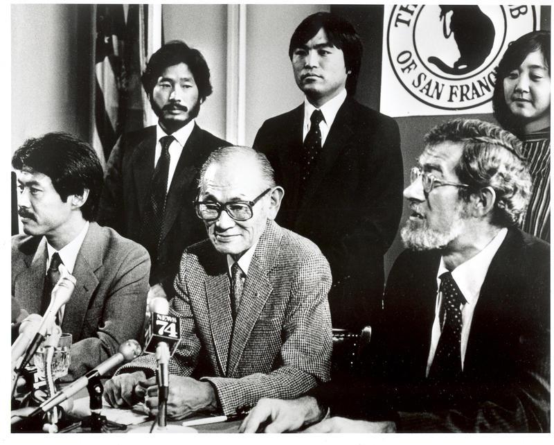 Korematsu Coram Nobis Press Conference