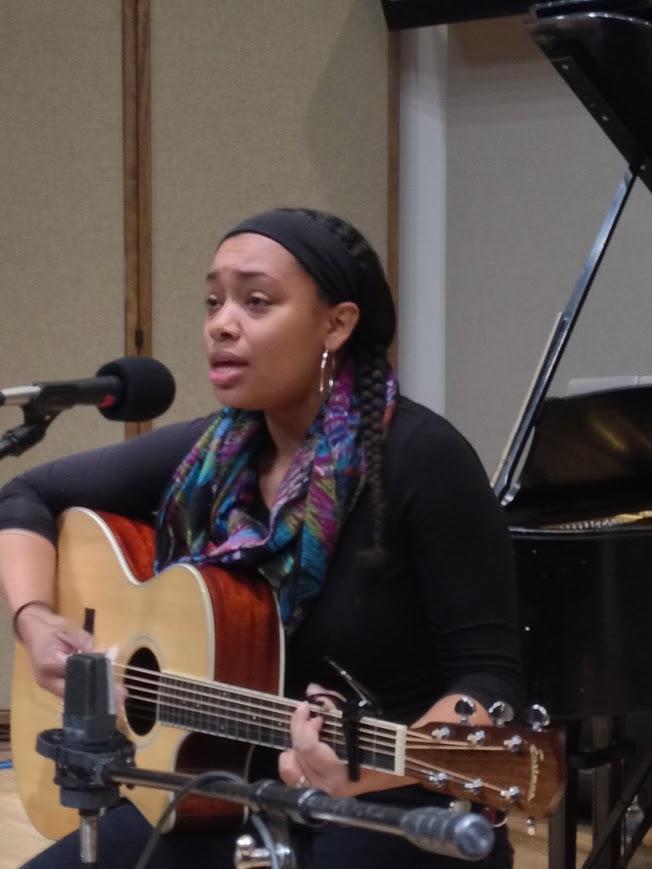 Vocalist and guitarist Shannon Jones