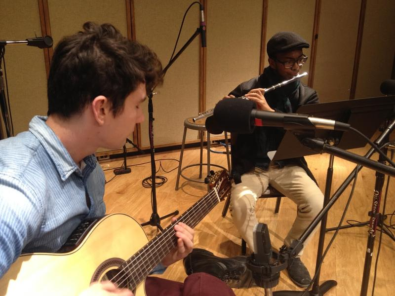 Guitarist Tanner O'Connor and Flutist Azeem Ward
