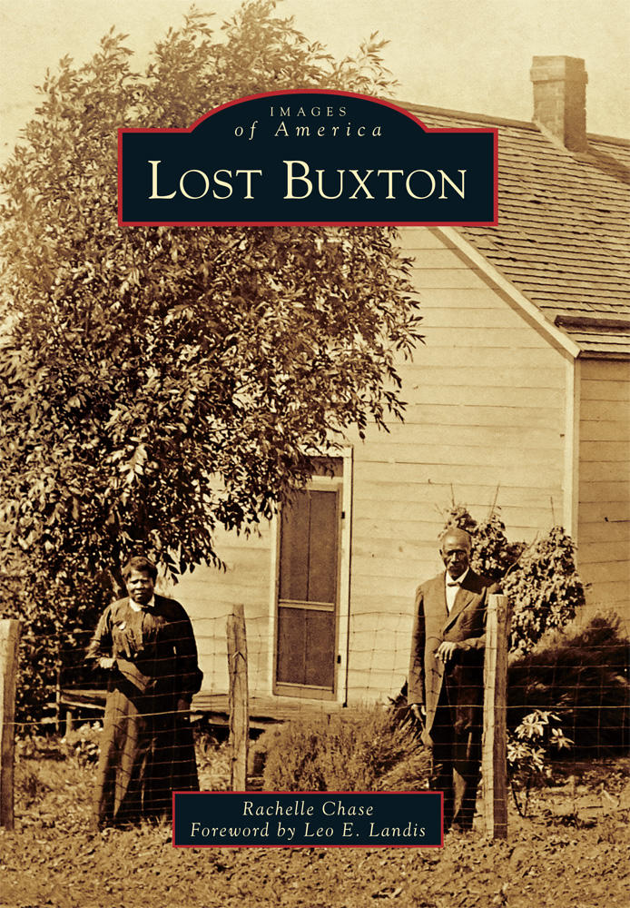 Rachelle Chase's new book on the lost town of Buxton, IA