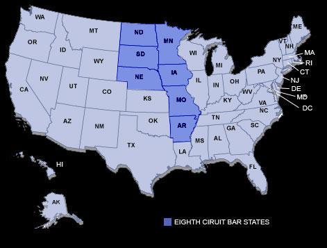 US Supreme Court Iowa Public Radio - Map of us circuit courts