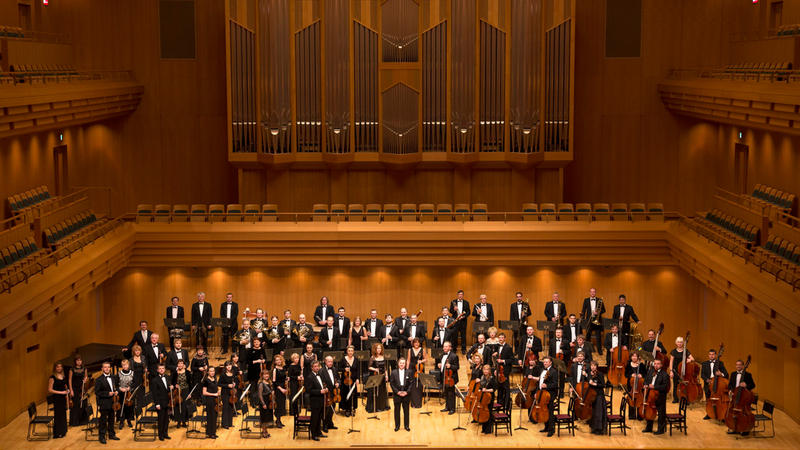 The National Symphony Orchestra of Ukraine, who will give a concert at ISU's Stephen's Auditorium this month