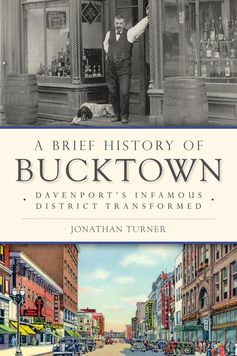 "Jonathan Turner's new book on ""Bucktown"""