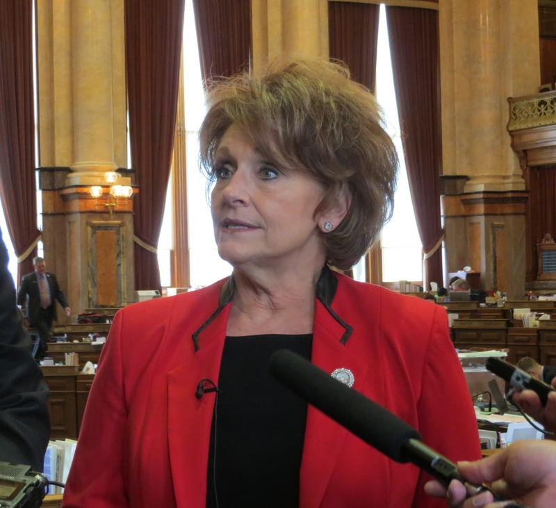 Republican House Speaker Linda Upmeyer (R-Clear Lake)