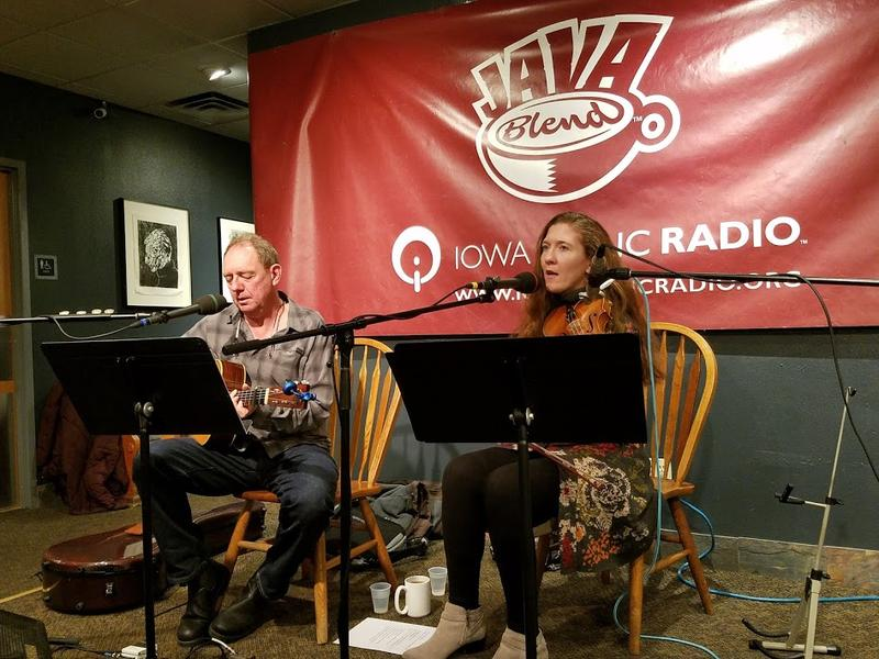 Keith Reins and Tara McGovern play Java Blend
