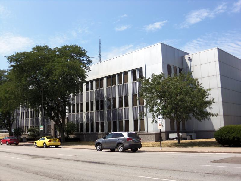 Scott County, Iowa courthouse.