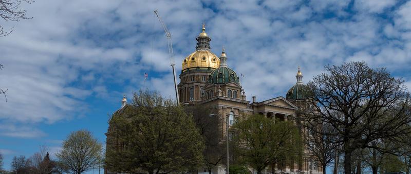 Iowa's Capitol.
