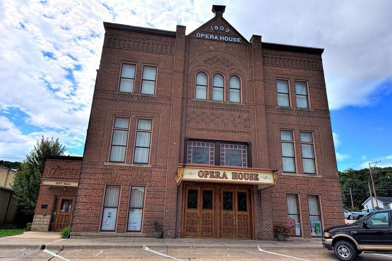 The Elkader Opera House is one of more than 100 prescription drug drop sites for Saturday's National Prescription Drug Take Back Day.