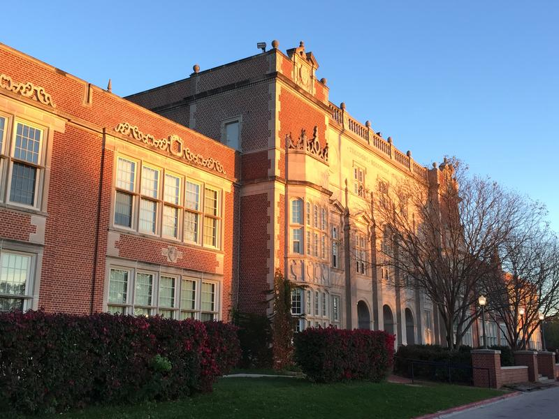 Des Moines Unified School District's Roosevelt High School.