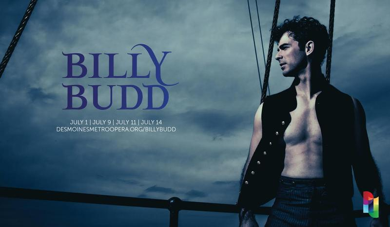 "The Des Moines Metro Opera's upcoming production of Britten's ""Billy Budd"""