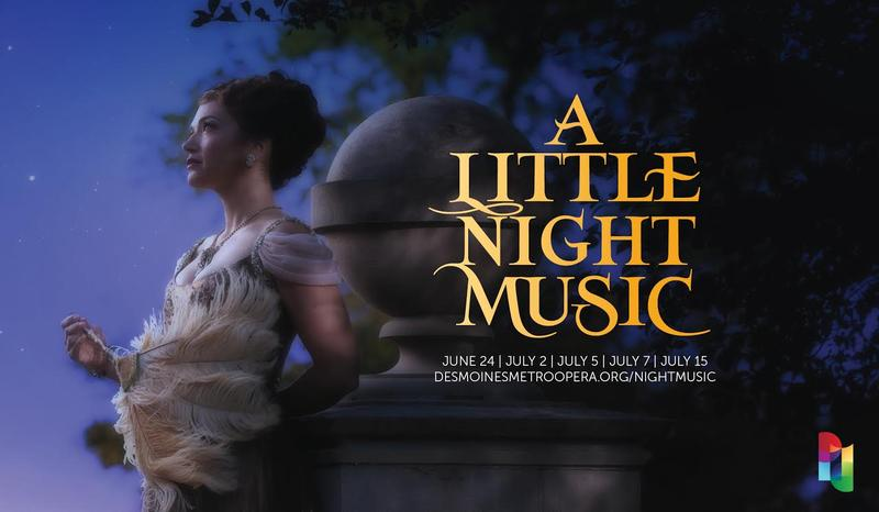 "The Des Moines Metro Opera's upcoming production of Sondheim's ""A Little Night Music"""