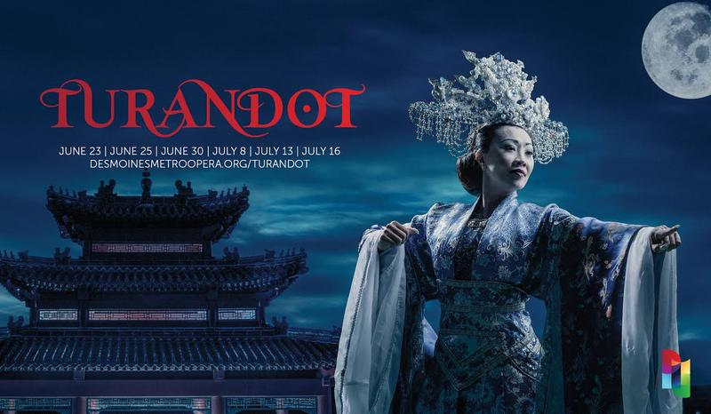 "The Des Moines Metro Opera's upcoming production of Puccini's ""Turandot"""