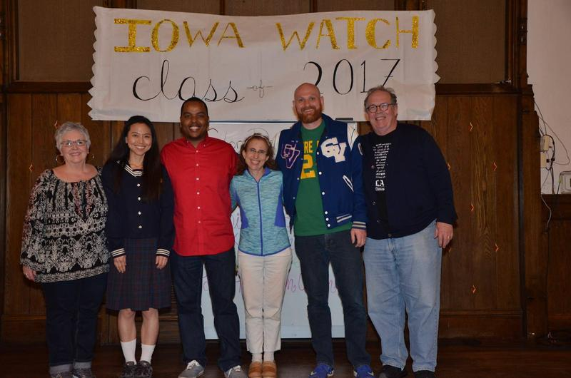 From left: Diane LaDuke, Yun Garrison, Kedi Ochs, Lea Haravon Collins, John Paul Derryberry, Bill Casey