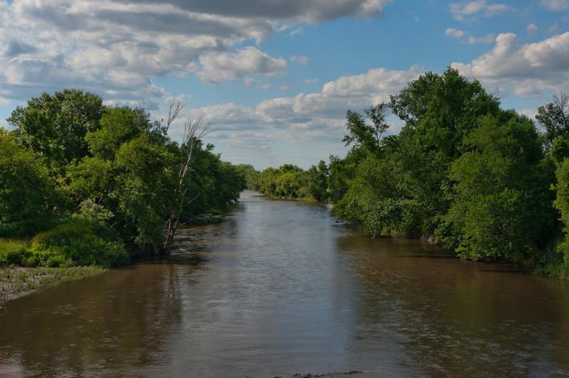 Polk County Iowa waterway