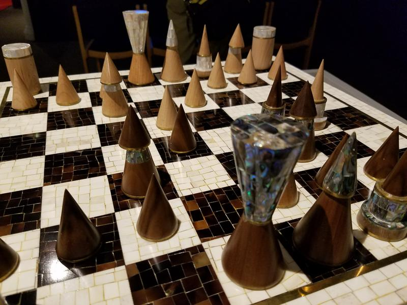 Barack Obama was given this chess set in 2016