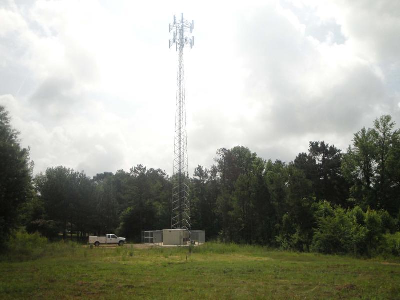 Broadband site in rural Oklahoma