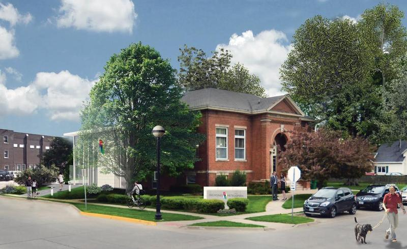 Concept photo of the renovated Carnegie Library