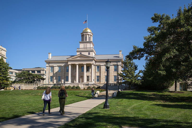 The University of Iowa is cutting 33 jobs and closing several on-campus programs in order to shoulder budget cuts from state lawmakers.